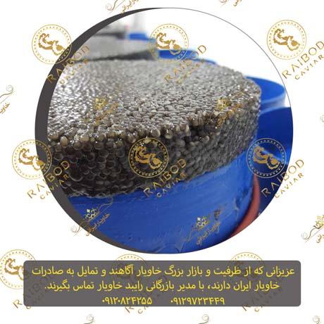 صادرات خاویار بلوگا با برند خاویار ایران